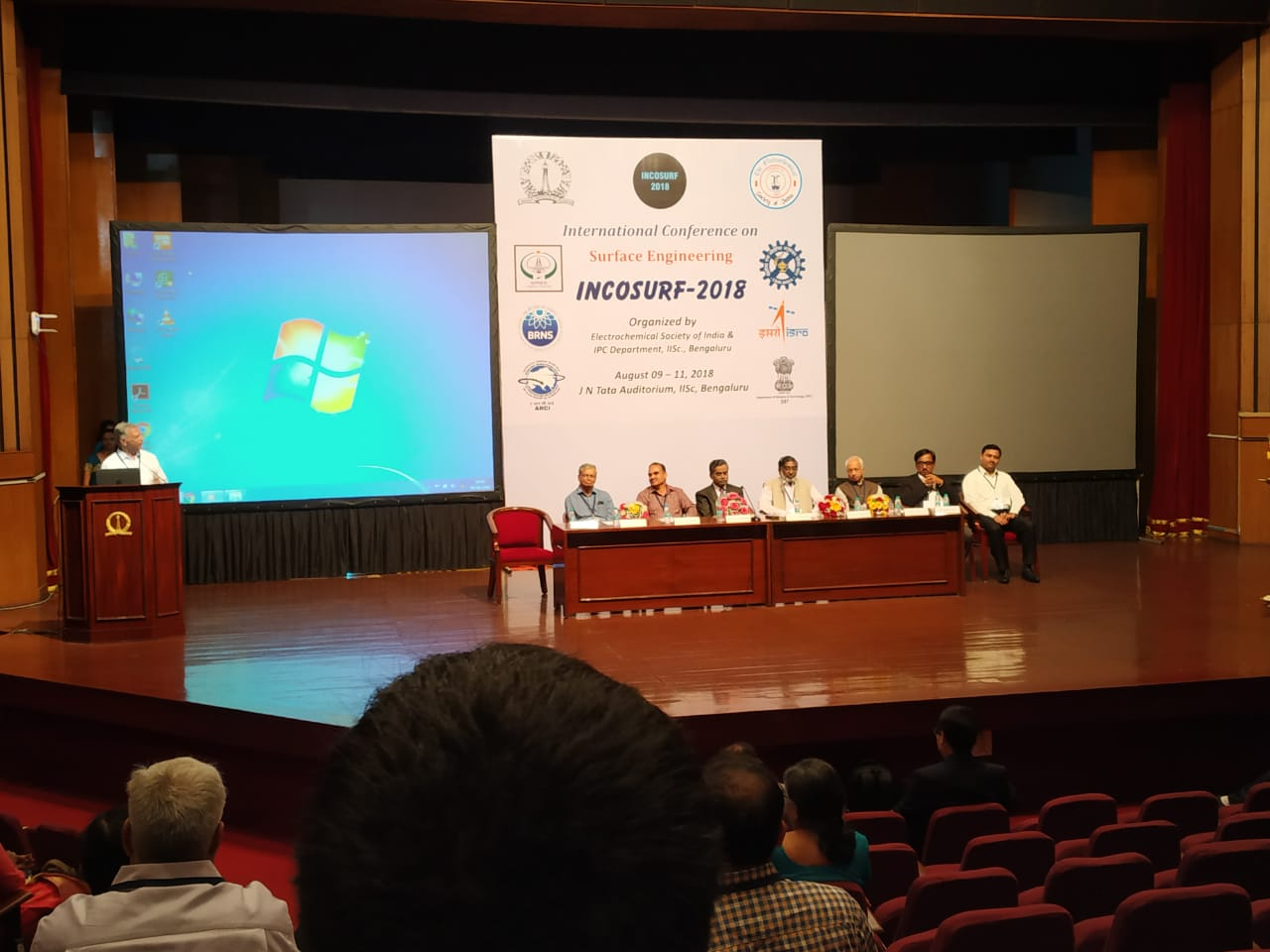 Ekya School ITPL at Indian Institute Of Science - INCOSURF 2018