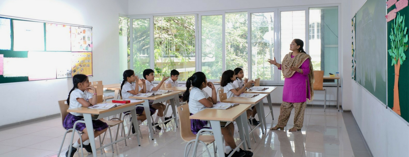 ekya schools class rooms