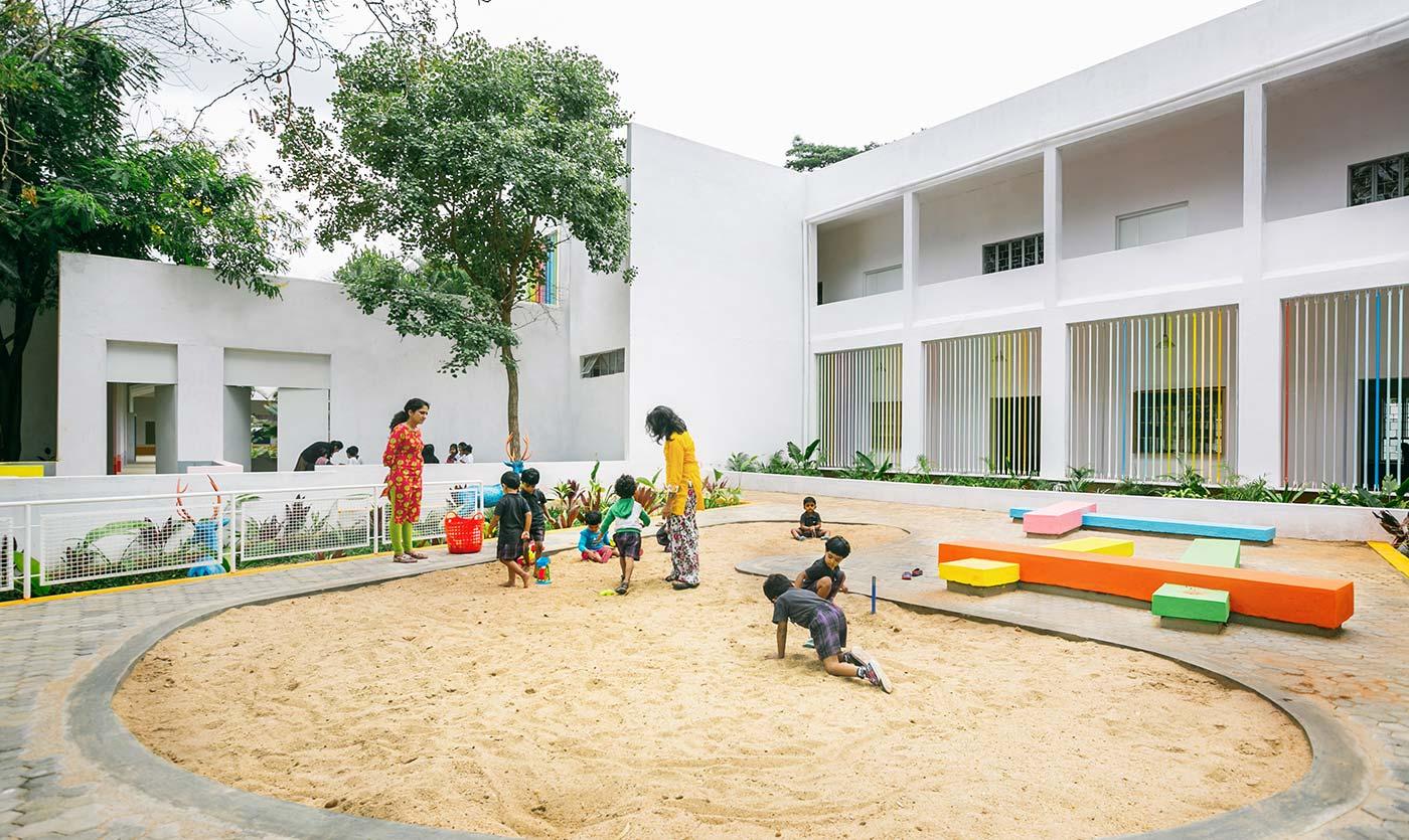 Ekya school kanakapura road montessori kindergarten for Education design architects bangalore